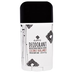Alaffia, Deodorant, Coconut Bergamot, 2.65 oz (75 g)