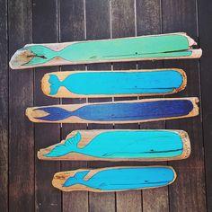 Painted Driftwood | DriftwoodArt | Treibholz | TreibholzKunst http://kymastyle.wordpress.com #lifeisawave individual | #lifestyle | art