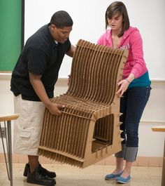 cardboard chairs - Google Search