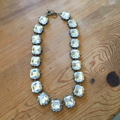 Large jeweled necklace Bling bling! Spice up your outfit with this eye catching statement piece! Jewelry Necklaces