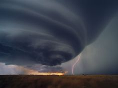 Supercell Thunderstorm, Kansas