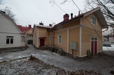 Myytävät asunnot, Raunistulan Puistotie 6, Turku #oikotieasunnot #puutalo
