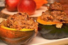 A Healthy Jalapeno: Roasted Acorn Squash with Sausage and Apple Stuffing Finger Food Appetizers, Finger Foods, Apple Stuffing, European Cuisine, Acorn Squash, Zucchini, Sausage, Healthy Lifestyle, Roast