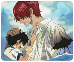 Luffy-Shanks