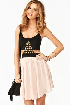 just ordered :)Pyramid Dress in Clothes Dresses at Nasty Gal Summer Fashion Outfits, Cute Summer Outfits, Cute Outfits, Summer Clothes, Dress Fashion, Fashion Top, Pretty Outfits, Style Fashion, Fashion Ideas
