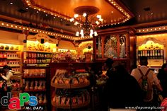 DAPs Magic Disney News » Blog Archive Gibson Girl Ice Cream Parlor, Penny Arcade, and Candy Palace Reopen on Main Street, USA at Disneyland » DAPs Magic Disney News