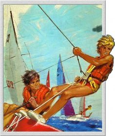 P-Joubert-1974 Cute Blonde Boys, Cute Boys, Rolf Armstrong, Norman Rockwell, Gil Elvgren, Robert Riggs, Boy Fashion 2018, Story Drawing, Art Et Illustration