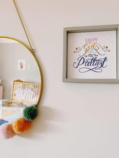 Girly, Wreaths, Happy, Home Decor, Bedroom Frames, Child Room, Baby Room Girls, Christmas Decor, Toddler Girls