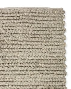 Braided Wool Rug - Serena & Lily