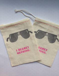 Awesome fun favor https://www.etsy.com/listing/196295673/bachelorette-hangover-kit-bags-i-regret