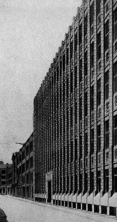 archiveofaffinities:  H.P. Berlage, Holland House, London, England, 1914