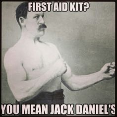 Jack Daniels -this is so one of my co-workers