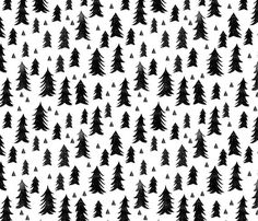 Woodland Forest Trees Quilting Fabric. Fabric by the Yard. Cotton Knit Jersey Minky. Woodland Camp Forest Trees Baby Boy Girl Nursery Fabric