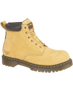 987228393c4 Traditional Honey Nubuck Leather Safety Boots Goodyear Welt