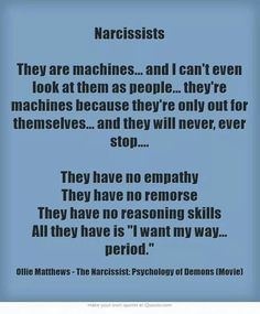 """Letter from a narcissist's """"true self"""" Narcissistic People, Narcissistic Mother, Narcissistic Behavior, Narcissistic Abuse Recovery, Narcissistic Sociopath, Narcissistic Personality Disorder, Emotional Vampire, Emotional Abuse, Emotional Intelligence"""