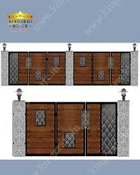 Image result for cnc cutting gate designs Front Gate Design, Fence Design, Home Stairs Design, Front Gates, House Stairs, Steel Doors, Muhammad, Prague, Cnc