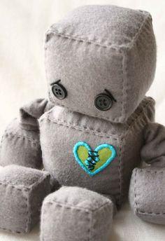aw... sad robot