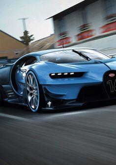 Bugatti Vision GT rear. Found on -http://wonderpiel.com/                                                                                                                                                     More