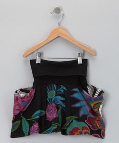 Take a look at this Black Floral Skirt - Toddler & Girls by Desigual on #zulily today!