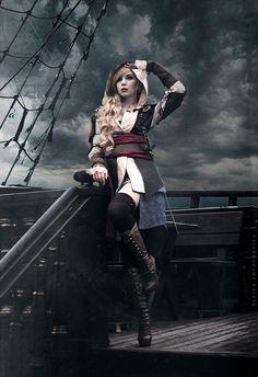 Assassin´s Creed IV Black Flag by Ohtien Cosplay. Photo byElfiya Fotografiya.