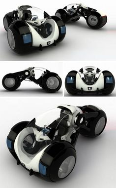 The so-called Rolling Stone car by Russian designer Vitaly Kononov #concept #cars