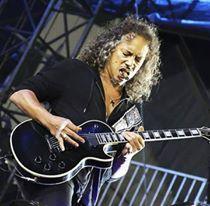 Sep 2011 - New York Soundcheck - Metallica Metallica Tattoo, Best Guitar Players, Kirk Hammett, Happy Birthday Dear, Love Pictures, Heavy Metal, Album, Rock, Guitars