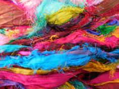 Hey, I found this really awesome Etsy listing at https://www.etsy.com/listing/214136266/32-to-35-yards-eyelash-ribbon-sari-silk