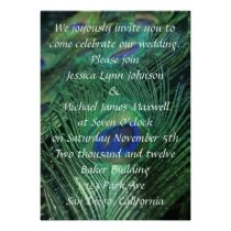 Peacock Feather Wedding invitations by Peacocks