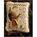 Everything Cross Stitch - Santa Arrives Tonight (2009 Ornament) w/embellishment
