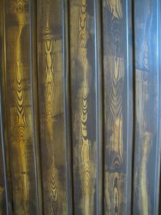 this door was a plain colored MDF door that I painter in wood design with the wood grainer Mdf Doors, Love Painting, Wood Design, Decoupage, Scarves, Models, Image, Home Decor, Art