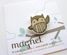 Brown Owl Magnet