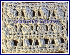 Marumin Crochet: Cluster Stitches: Bobble, Puff and Popcorn