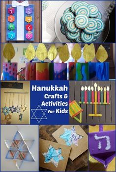 Hanukkah Crafts and Activities for Kids
