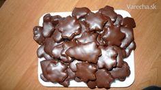 Plnené medovníčky v čokoláde