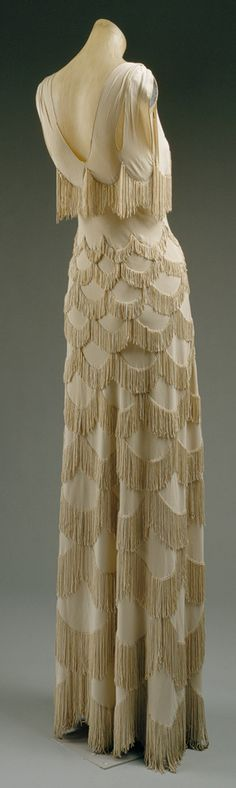 Evening Dress by Madeleine Vionnet, 1938