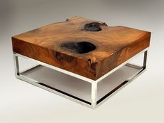 wood coffee table - Google Search