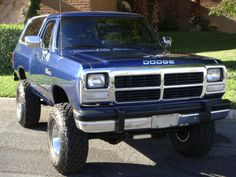 1991 DODGE RAMCHARGER 4X4 SUV  I want one!!