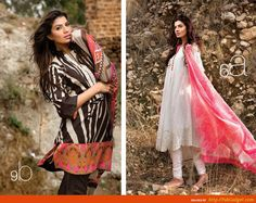 awesome Sana Safinaz Winter Weather 2013-2014 Type Designs for Ladies