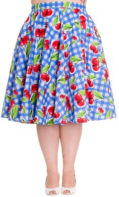Hell Bunny August Skirt