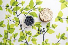 Finlayson Kesäkuu kuhinjski tekstil tudi na www.formadoma.eu Sweet Home, Textiles, Fruit, Amazing, Summer, Illustrations, Patterns, Kitchen, Design