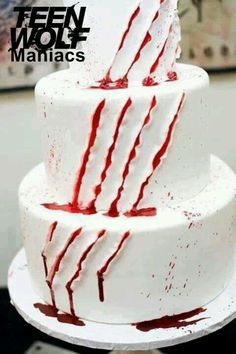 Teen Wolf Party On Pinterest Wolf Werewolves And Cakes