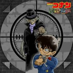 Detective Conan and Gin