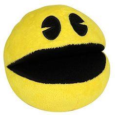Pixels Movie Pac-Man Plush Toy Video Edition - Pac-Man Yellow @ niftywarehouse.com #NiftyWarehouse #PacMan #VideoGames #Pac-man #Arcade #Classic