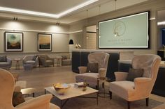 CGI of concierge secondary seating area