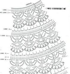 Free Baby Crochet Patterns Diagrams : 1000+ images about Crochet dress girl and Baby on ...