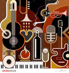 Las 13 Mejores Imagenes De Murales Musicales Music Murals Y Music