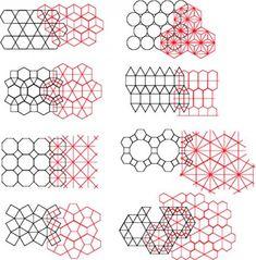 Geometric shapes to represent different brands Islamic Art Pattern, Pattern Art, Pattern Design, Pattern Ideas, Geometric Designs, Geometric Shapes, Geometric Nature, Textures Patterns, Print Patterns
