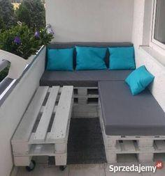 Znalezione obrazy dla zapytania meble balkonowe z palet