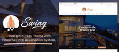 Swing – The Best Hotel and Resort WordPress Theme 2018
