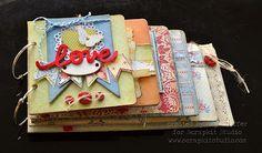 Pickled Paper Designs: Scrapkit Studio: Live Love Laugh Mini-Album